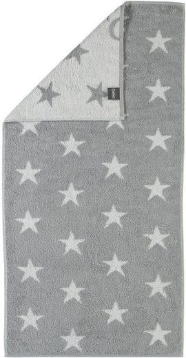 Badetuch »Stars Small«, Cawö, mit Wendeseite