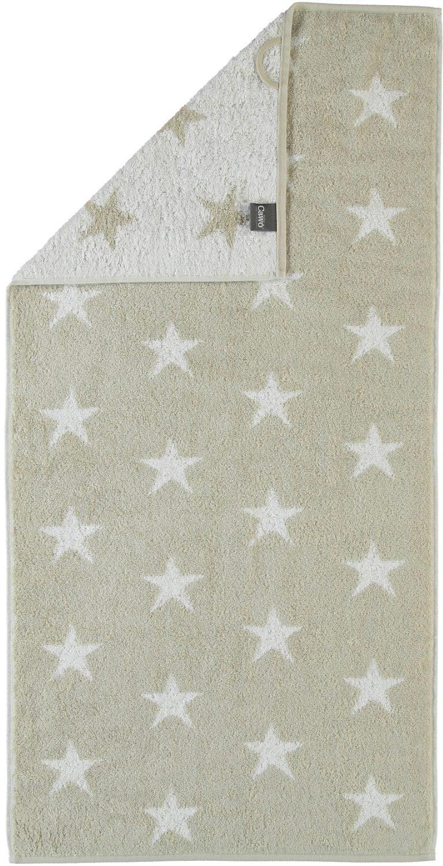 Handtücher, Cawö, »Stars Small«, mit Wendeseite