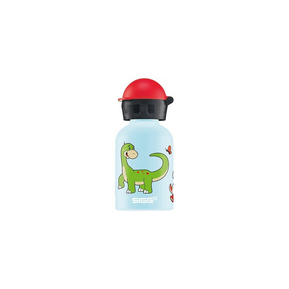 SIGG Alu-Trinkflasche Dino Family, 300 ml in blau