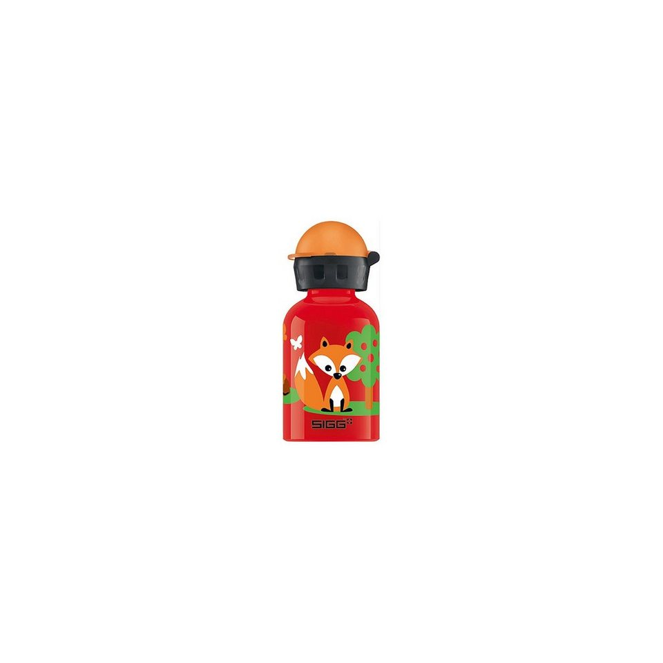 SIGG Trinkflasche Forest Day, 0,3 l in rot