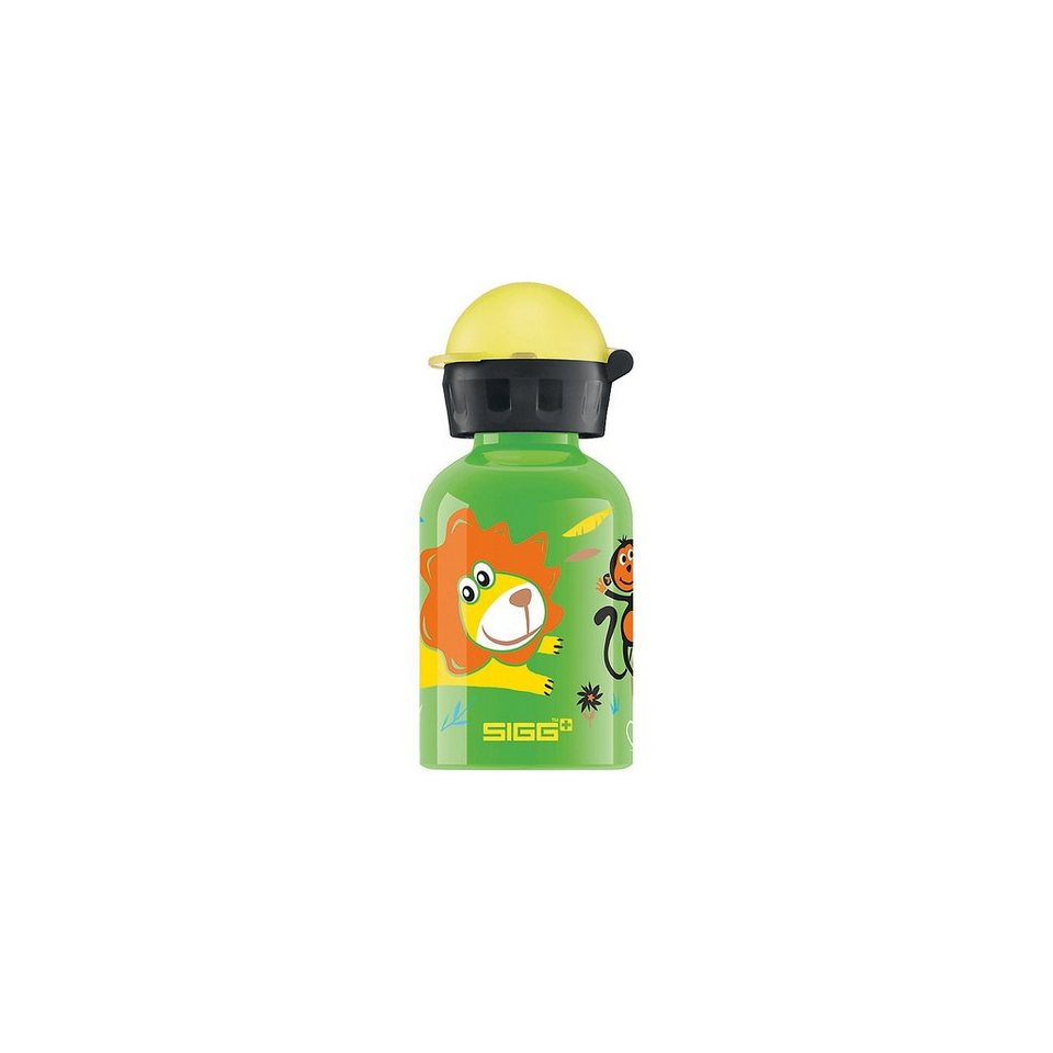 SIGG Alu-Trinkflasche Jungle Day, 300 ml in grün