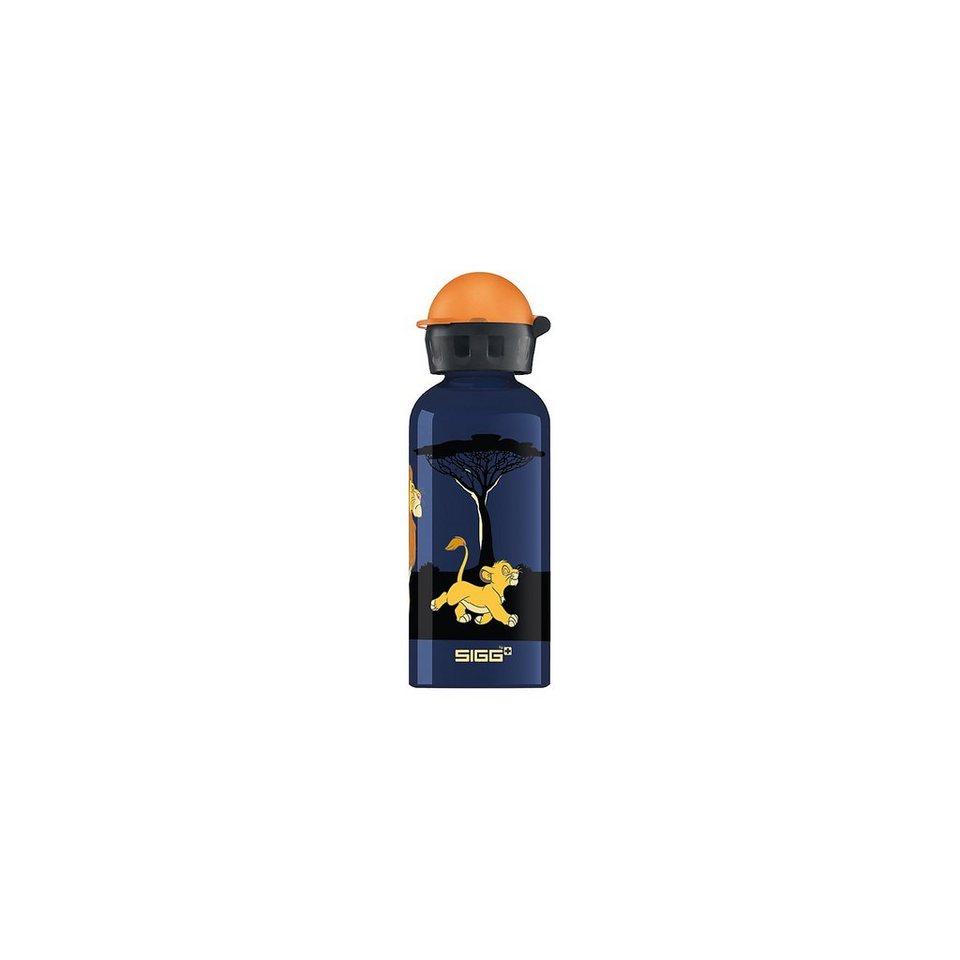 SIGG Alu-Trinkflasche König der Löwen, 400 ml in blau