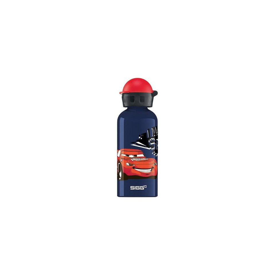 SIGG Alu-Trinkflasche Cars Speed, 400 ml in blau