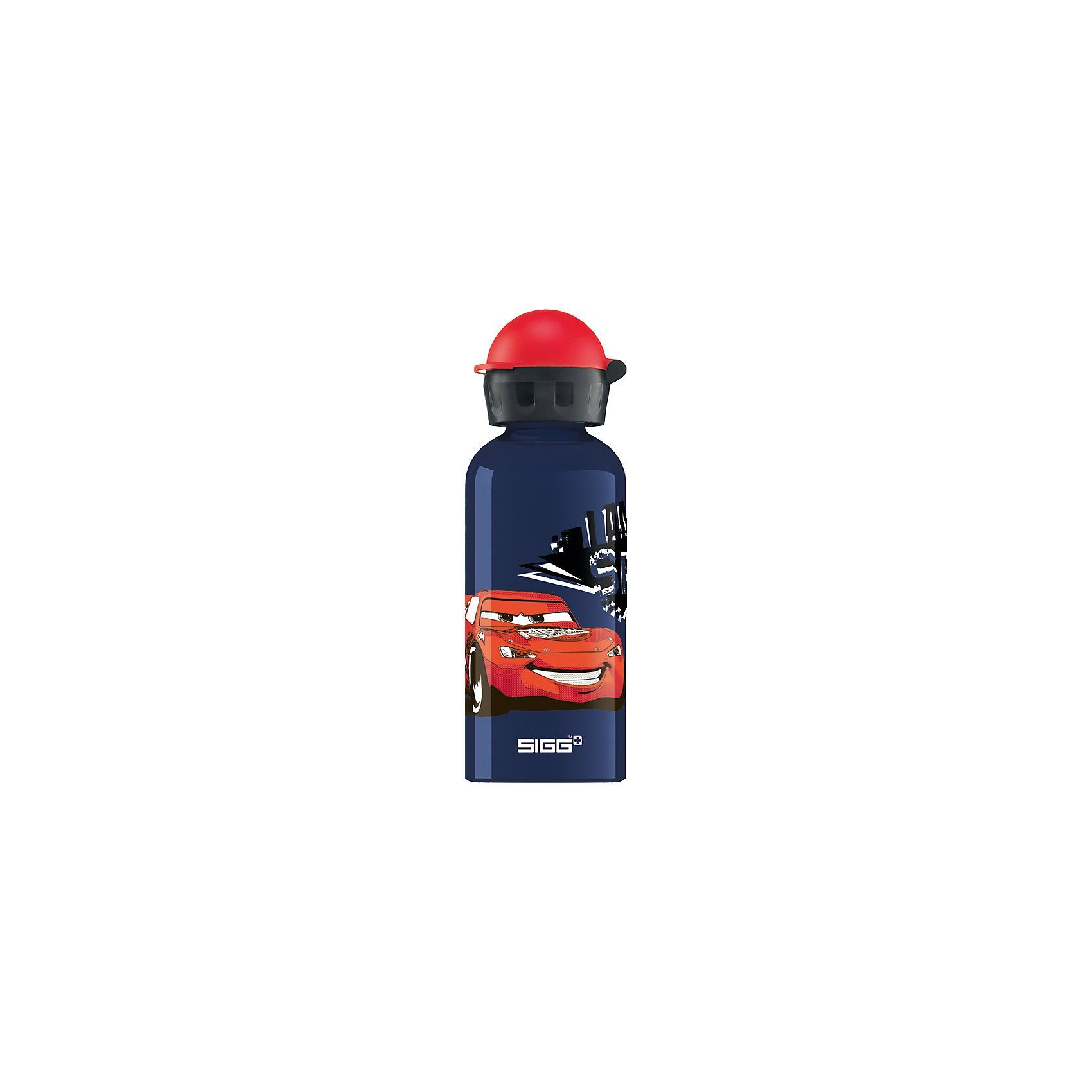 SIGG Alu-Trinkflasche Cars Speed, 400 ml