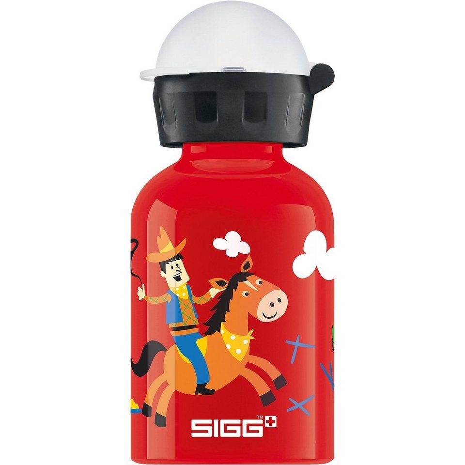 SIGG Alu-Trinkflasche Cowboy, 300 ml in rot