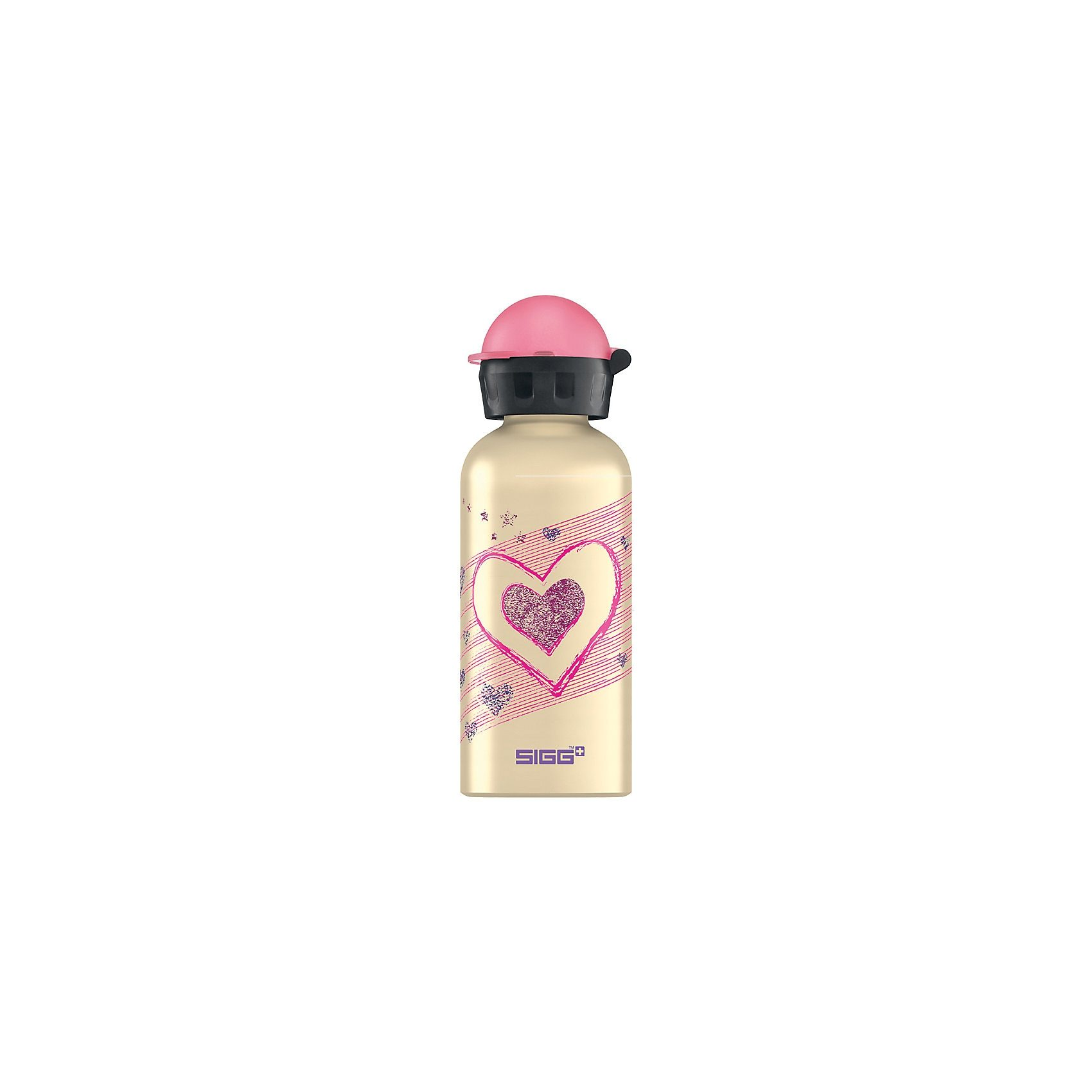 SIGG Alu-Trinkflasche Hearts & Stars, 400 ml