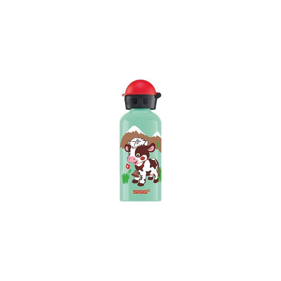 SIGG Alu-Trinkflasche Swiss Friends, 400 ml in blau