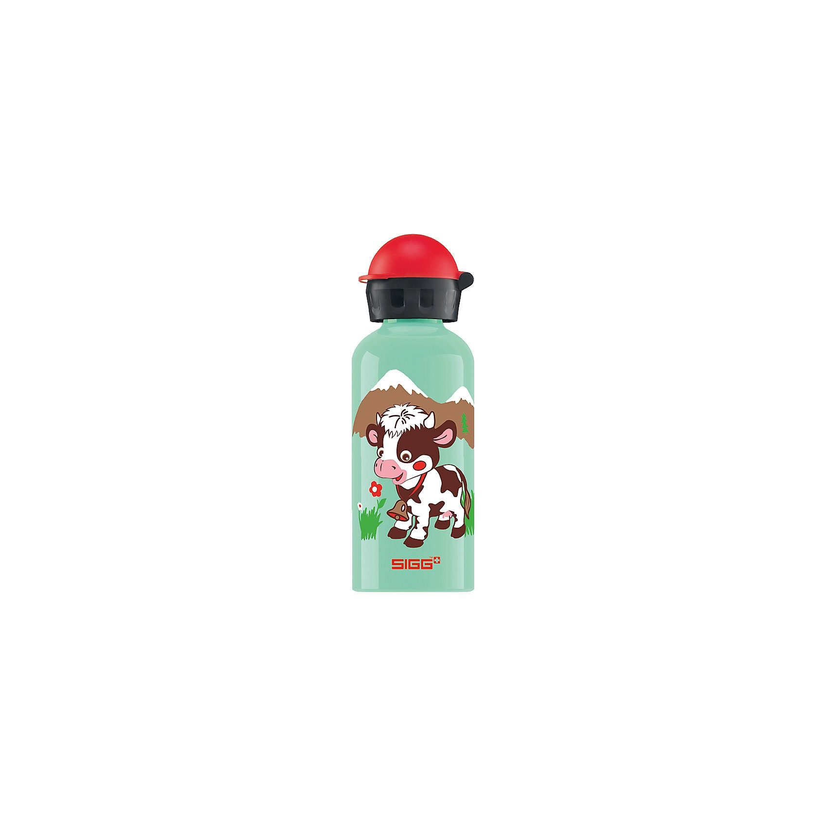 SIGG Alu-Trinkflasche Swiss Friends, 400 ml