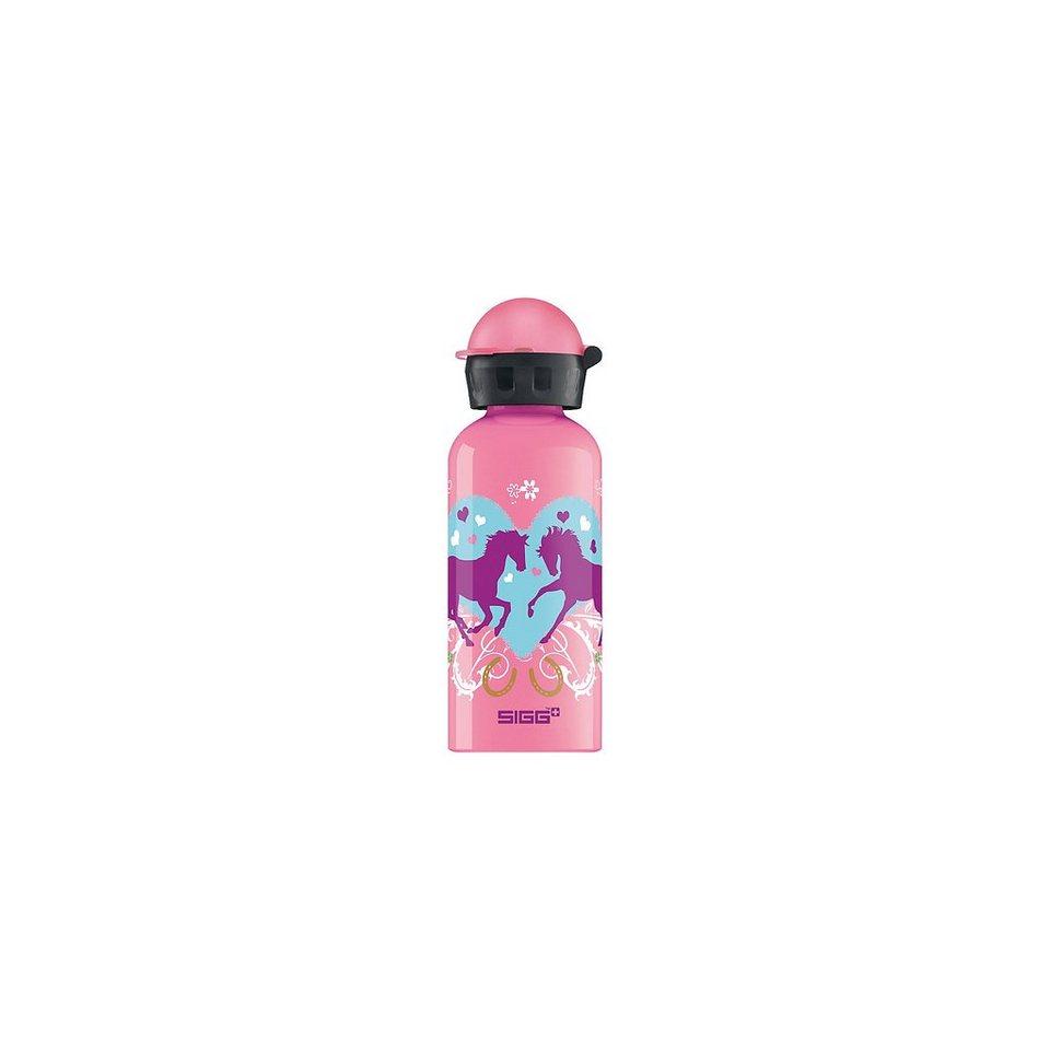 SIGG Alu-Trinkflasche Dancing Horses, 400 ml in rosa