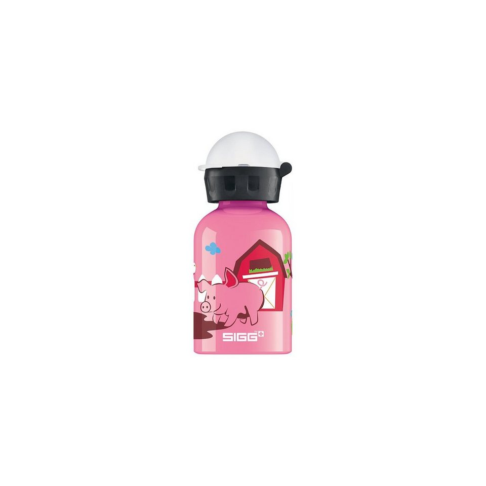 SIGG Alu-Trinkflasche Sunny Day on the Farm, 300 ml in rosa