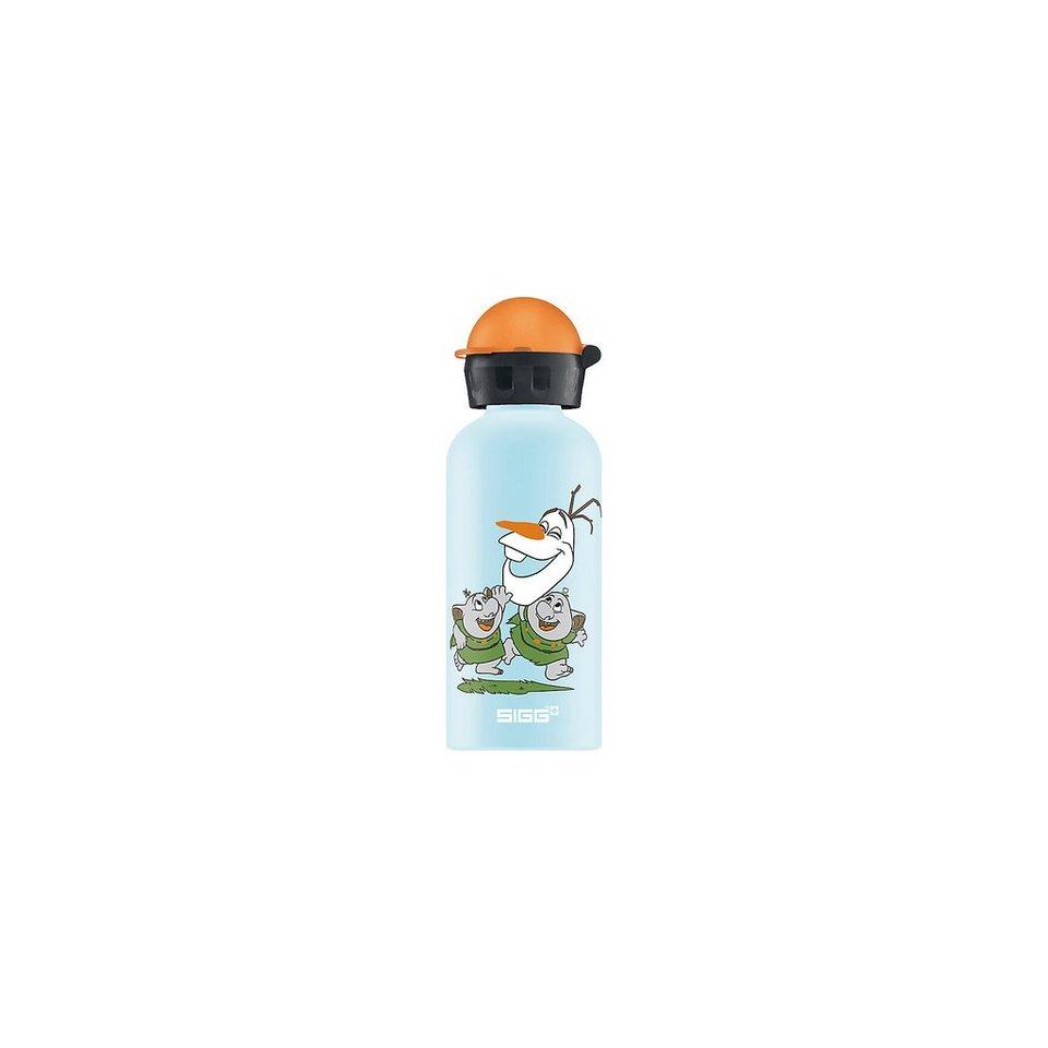 SIGG Alu-Trinkflasche Die Eiskönigin Olaf, 400 ml in blau