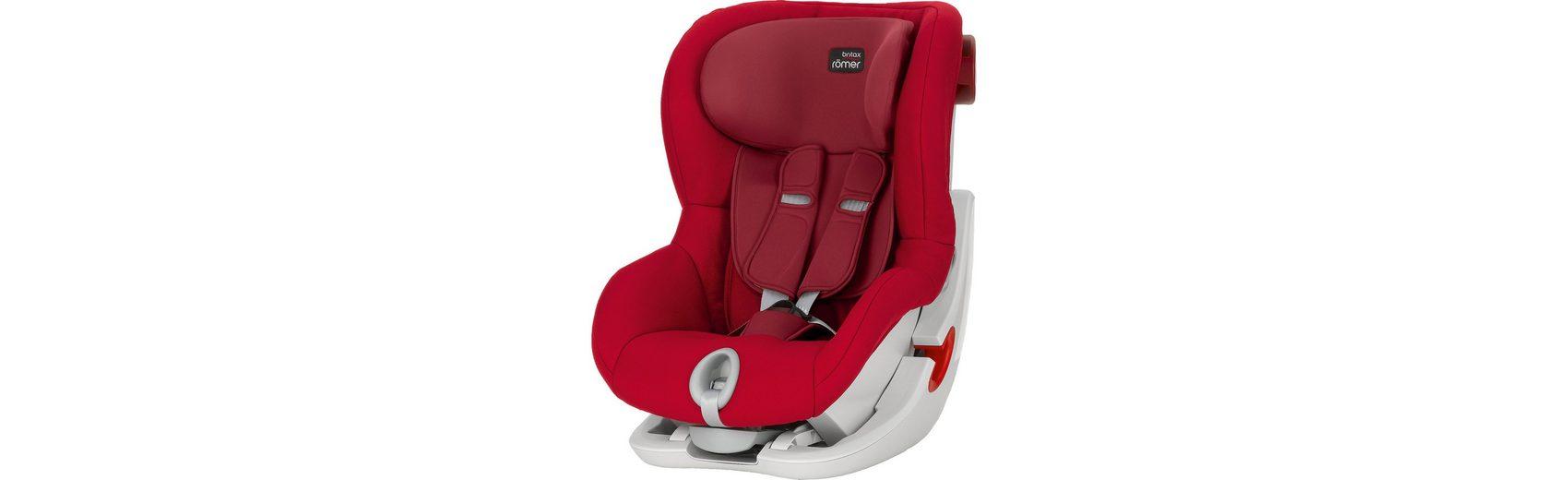 Britax Römer Auto-Kindersitz King II, Flame Red, 2016