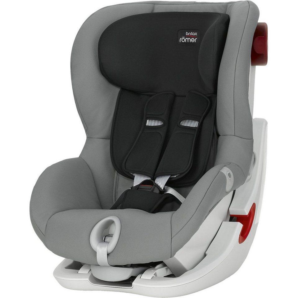 Britax Römer Auto-Kindersitz King II, Steel Grey, 2016 in grau