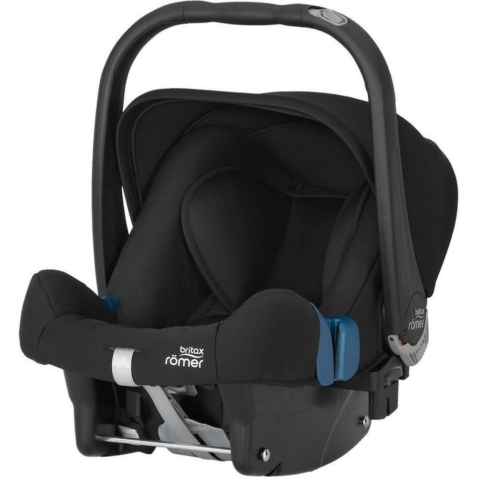 Britax Römer Babyschale Baby-Safe Plus II, Cosmos Black, 2016 in schwarz