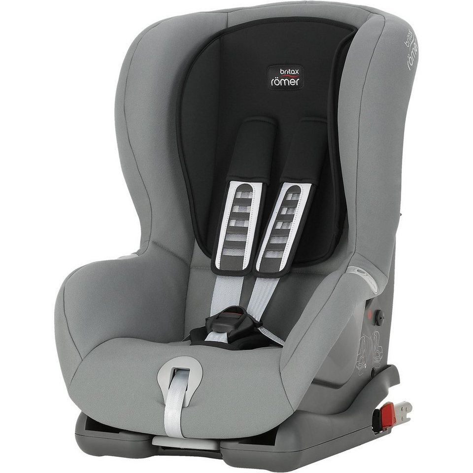 Britax Römer Auto-Kindersitz Duo Plus, Steel Grey, 2016 in grau