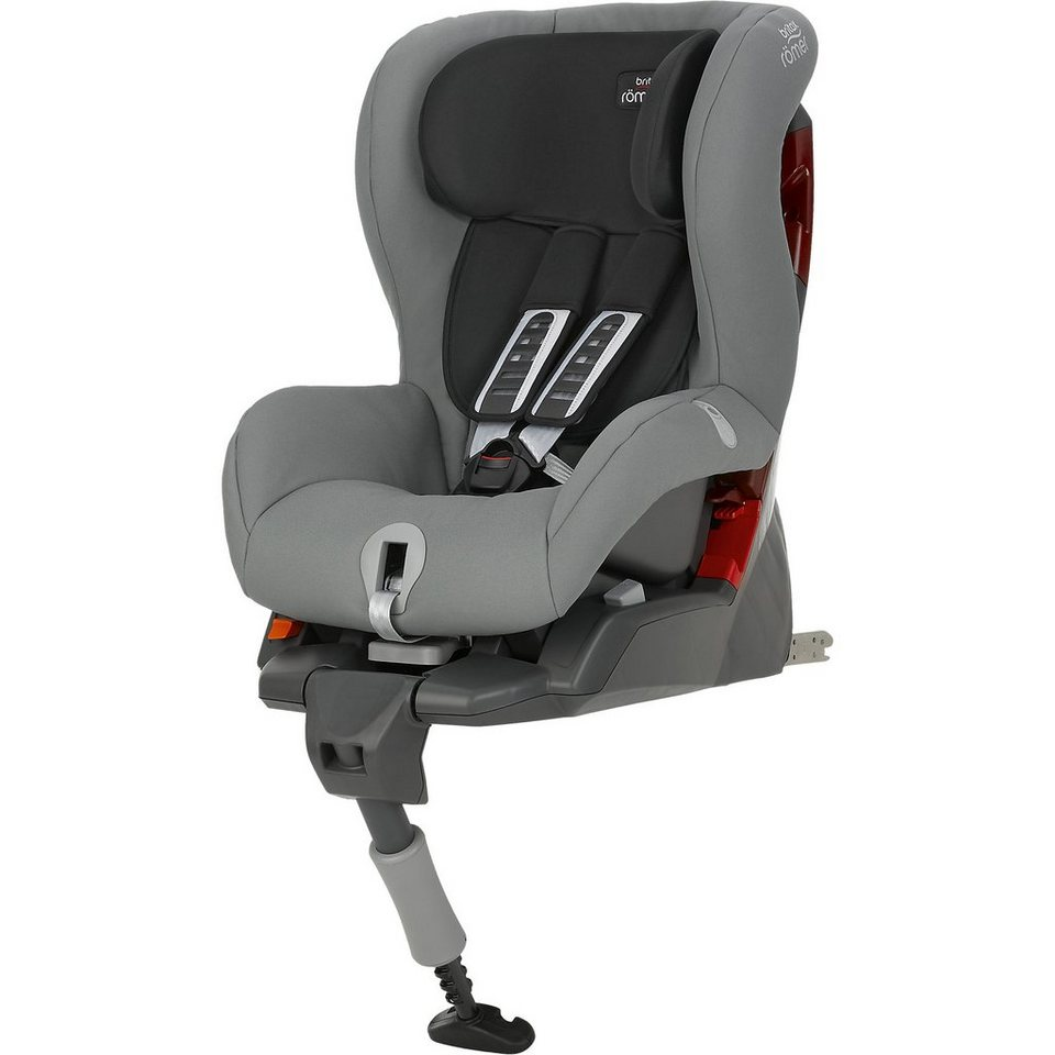 Britax Römer Auto-Kindersitz Safefix Plus, Steel Grey, 2016 in grau
