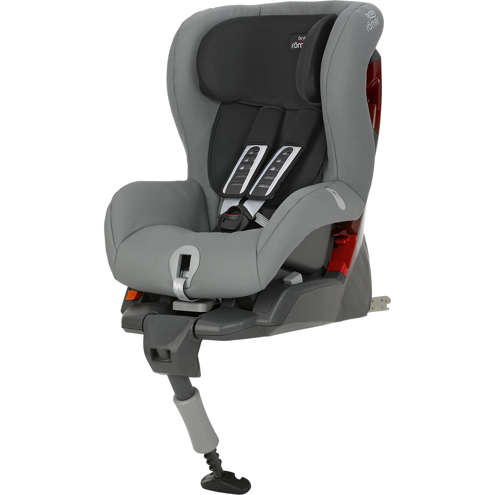 Britax Römer Auto-Kindersitz Safefix Plus, Steel Grey, 2016