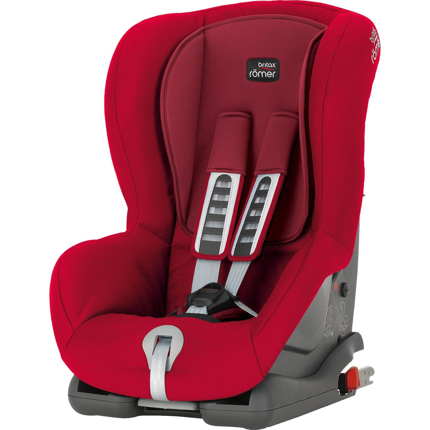 Britax Römer Auto-Kindersitz Duo Plus, Flame Red, 2016