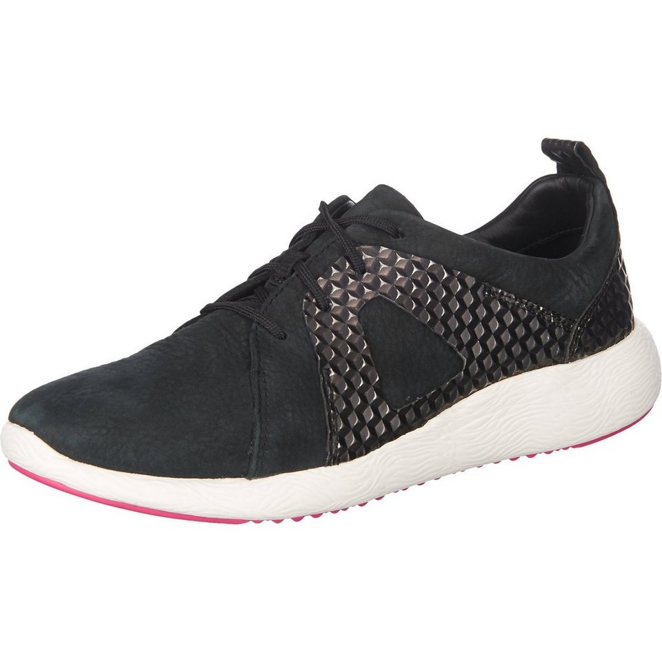 Clarks Cowley Faye Sneakers in schwarz
