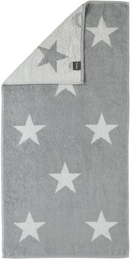 Badetuch »Stars Big«, Cawö, mit Wendeseite