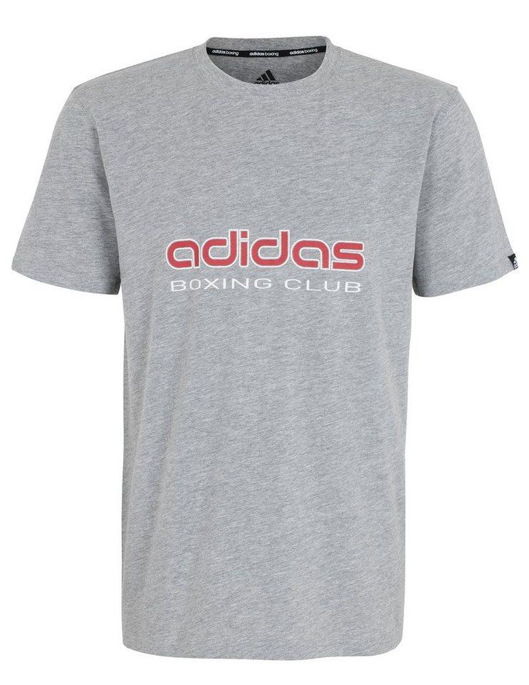 adidas Performance T-Shirt, »Boxing Club« in grau