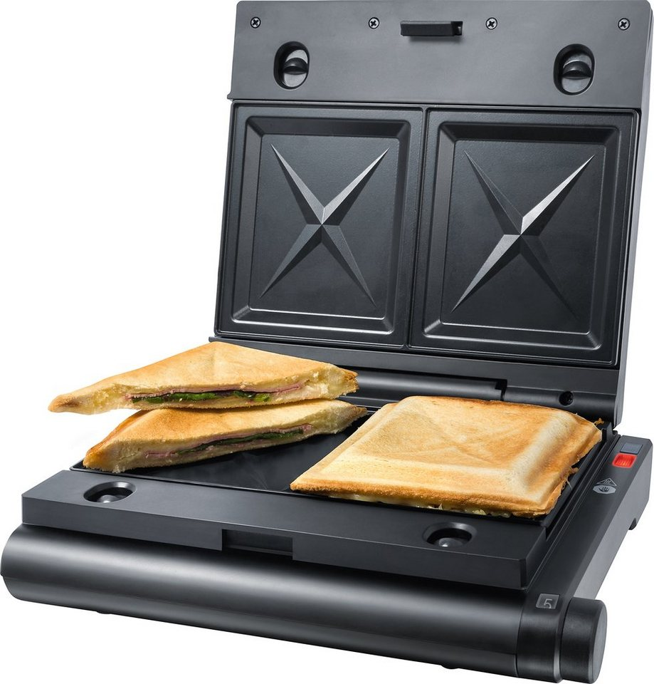 Steba Sandwichmaker SG 55, 1100 Watt in schwarz