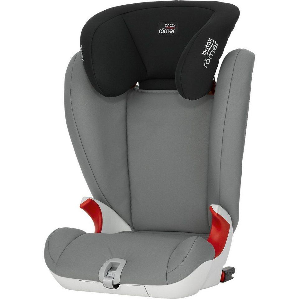 Britax Römer Auto-Kindersitz Kidfix SL, Steel Grey, 2016 in grau