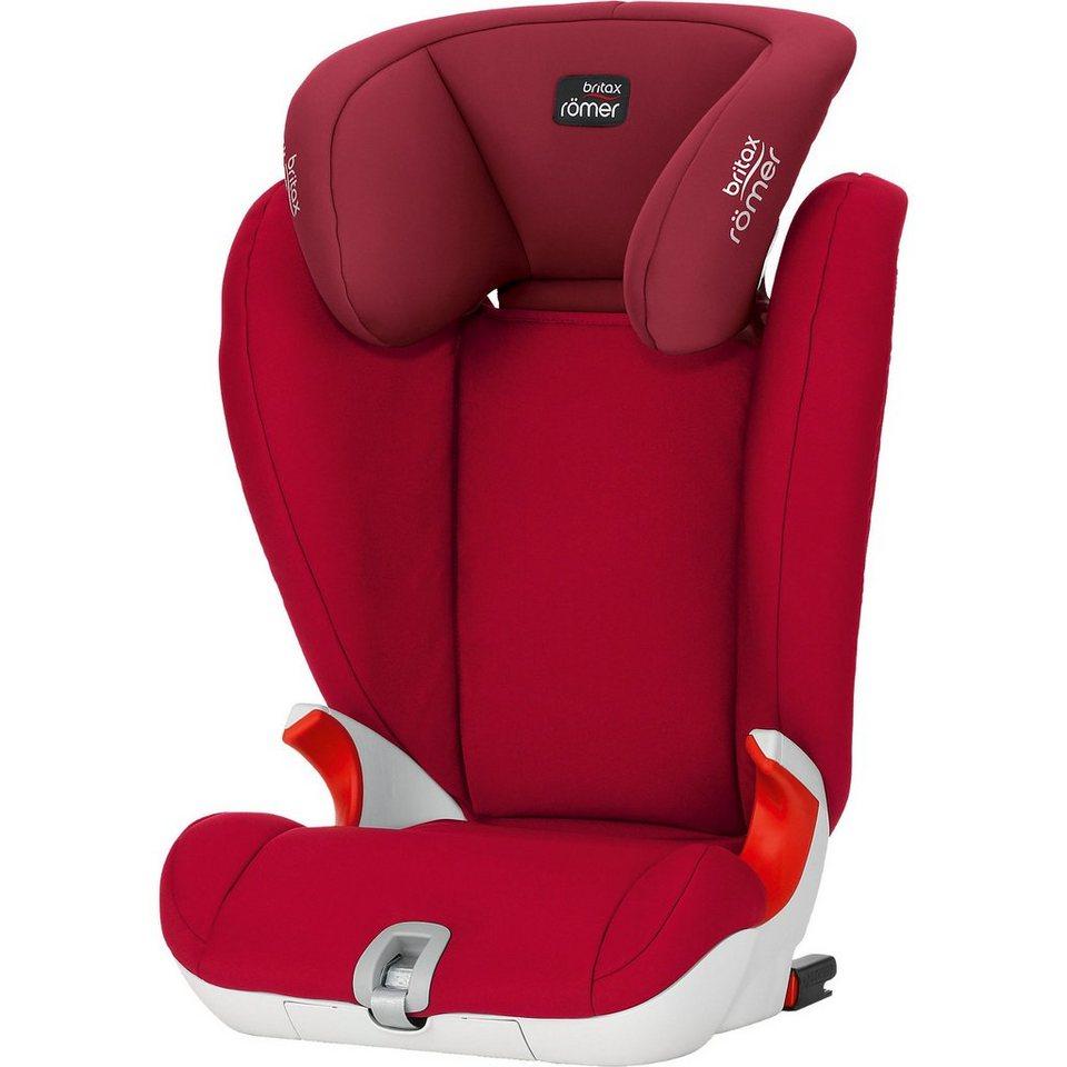 Britax Römer Auto-Kindersitz Kidfix SL, Flame Red, 2016 in rot
