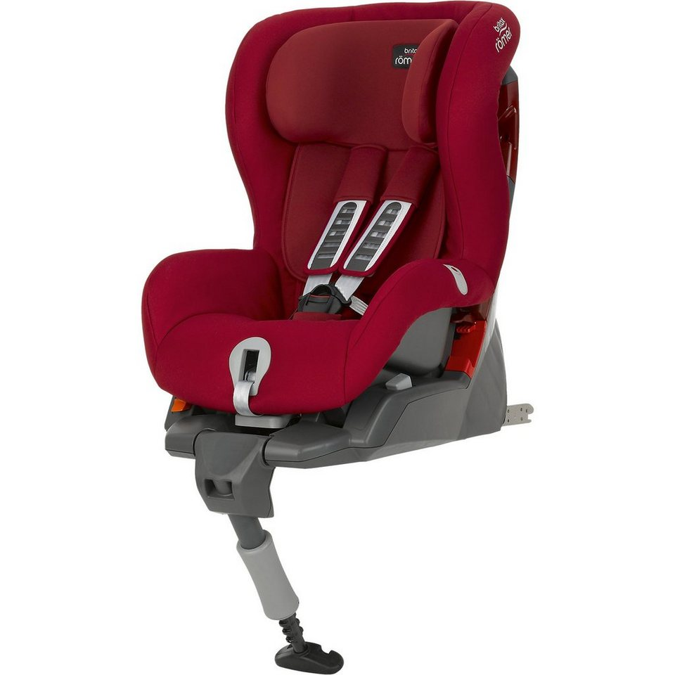 Britax Römer Auto-Kindersitz Safefix Plus, Flame Red, 2016 in rot