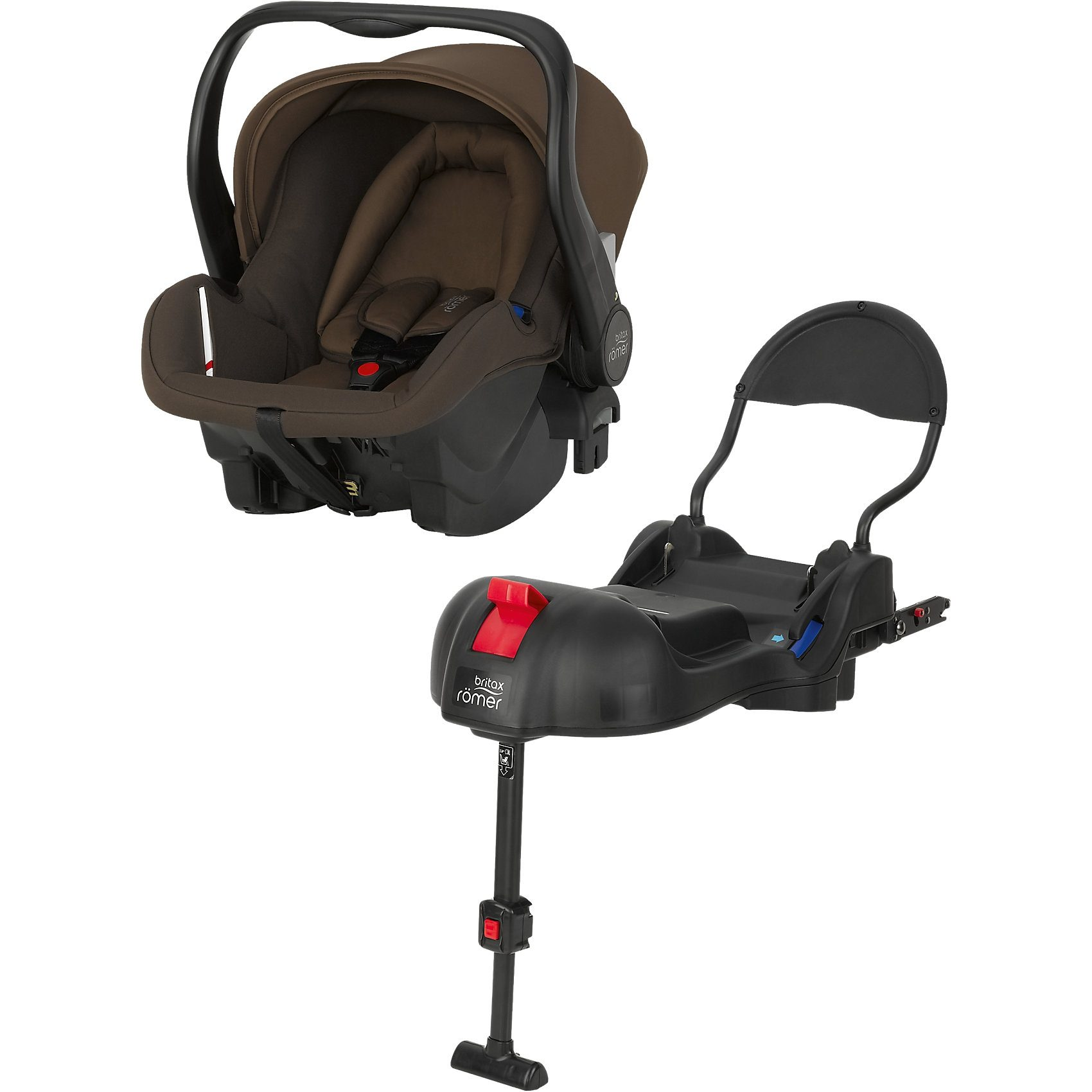 Britax Römer Babyschale Primo inkl. Basis, Wood Brown, 2016