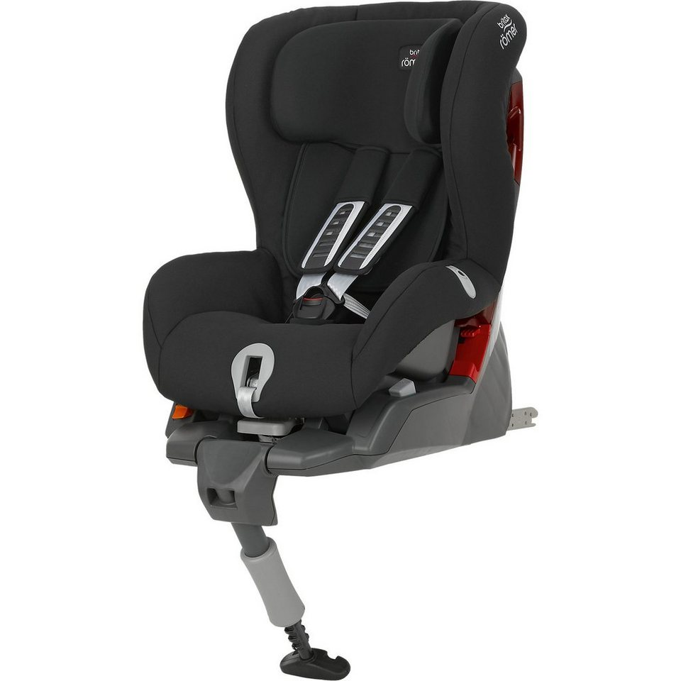 Britax Römer Auto-Kindersitz Safefix Plus, Cosmos Black, 2016 in schwarz