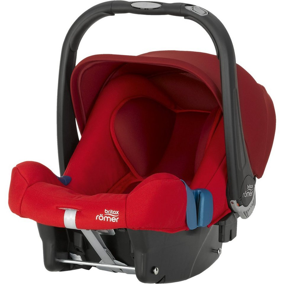 Britax Römer Babyschale Baby-Safe Plus SHR II, Flame Red, 2016 in rot