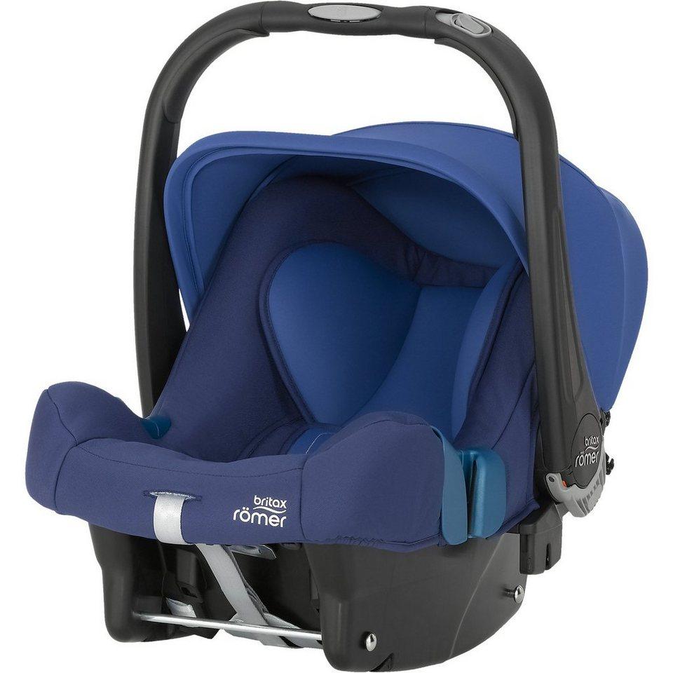 Britax Römer Babyschale Baby-Safe Plus SHR II, Ocean Blue, 2016 in blau