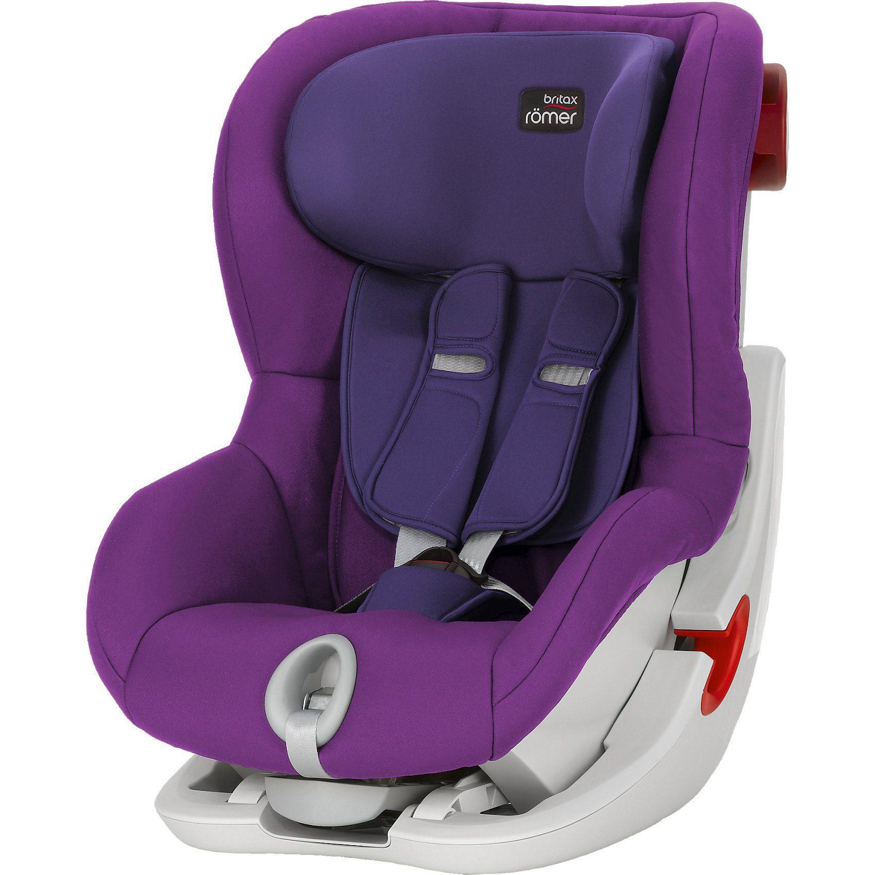 Britax Römer Auto-Kindersitz King II, Mineral Purple, 2018