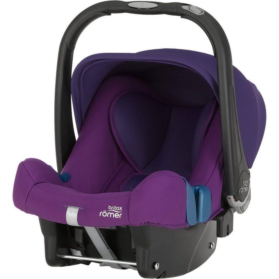 Britax Römer Babyschale Baby-Safe Plus SHR II,I Mineral Purple, 2016 in lila