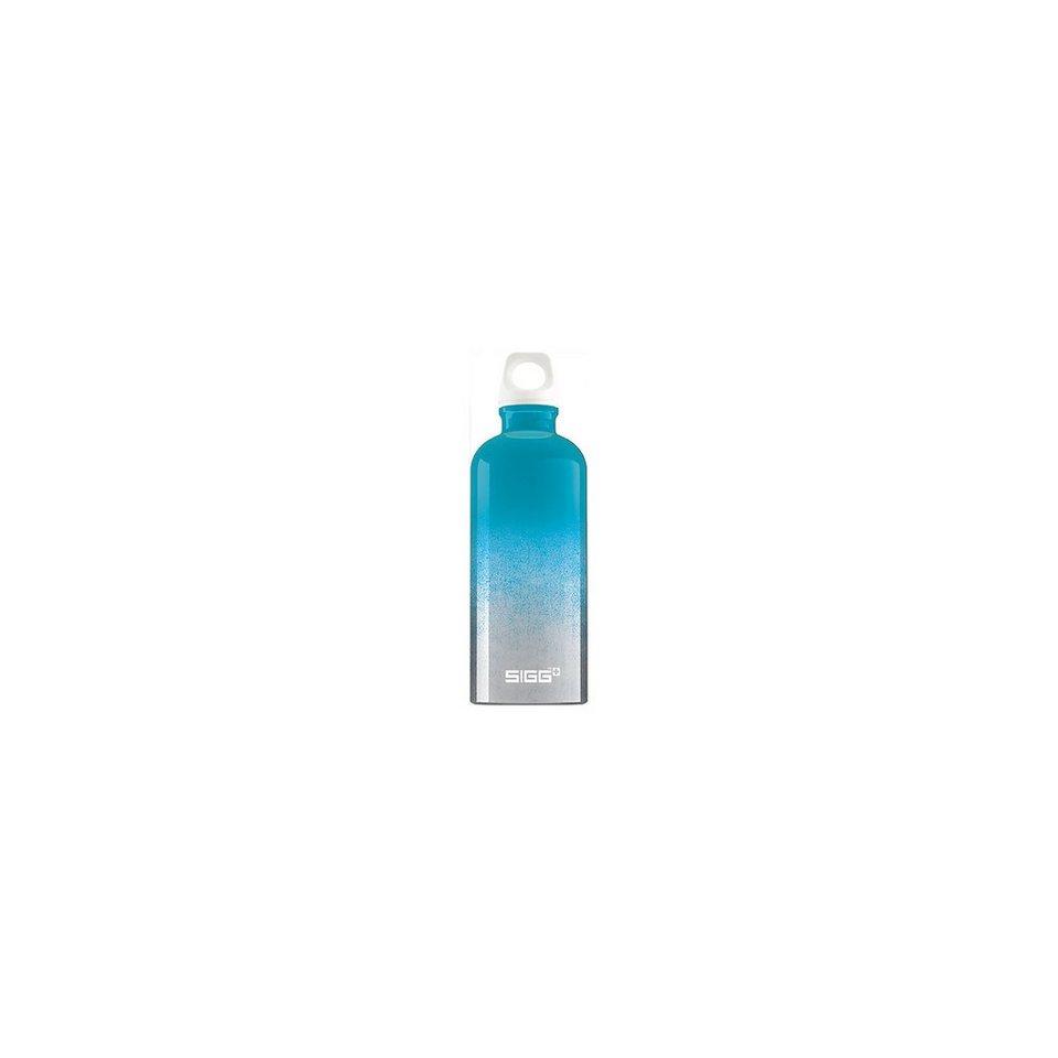 SIGG Alu-Trinkflasche Crazy Blue, 600 ml in türkis