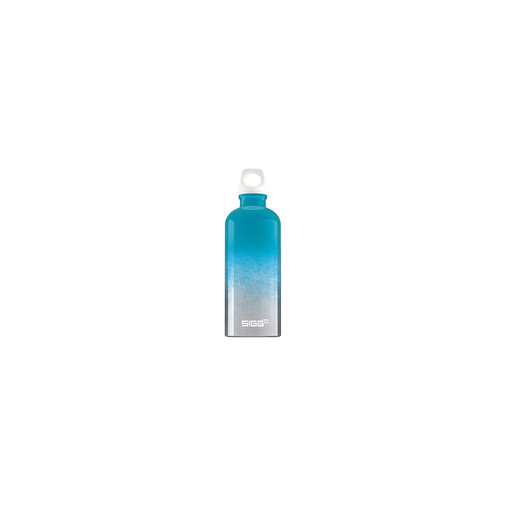 SIGG Alu-Trinkflasche Crazy Blue, 600 ml