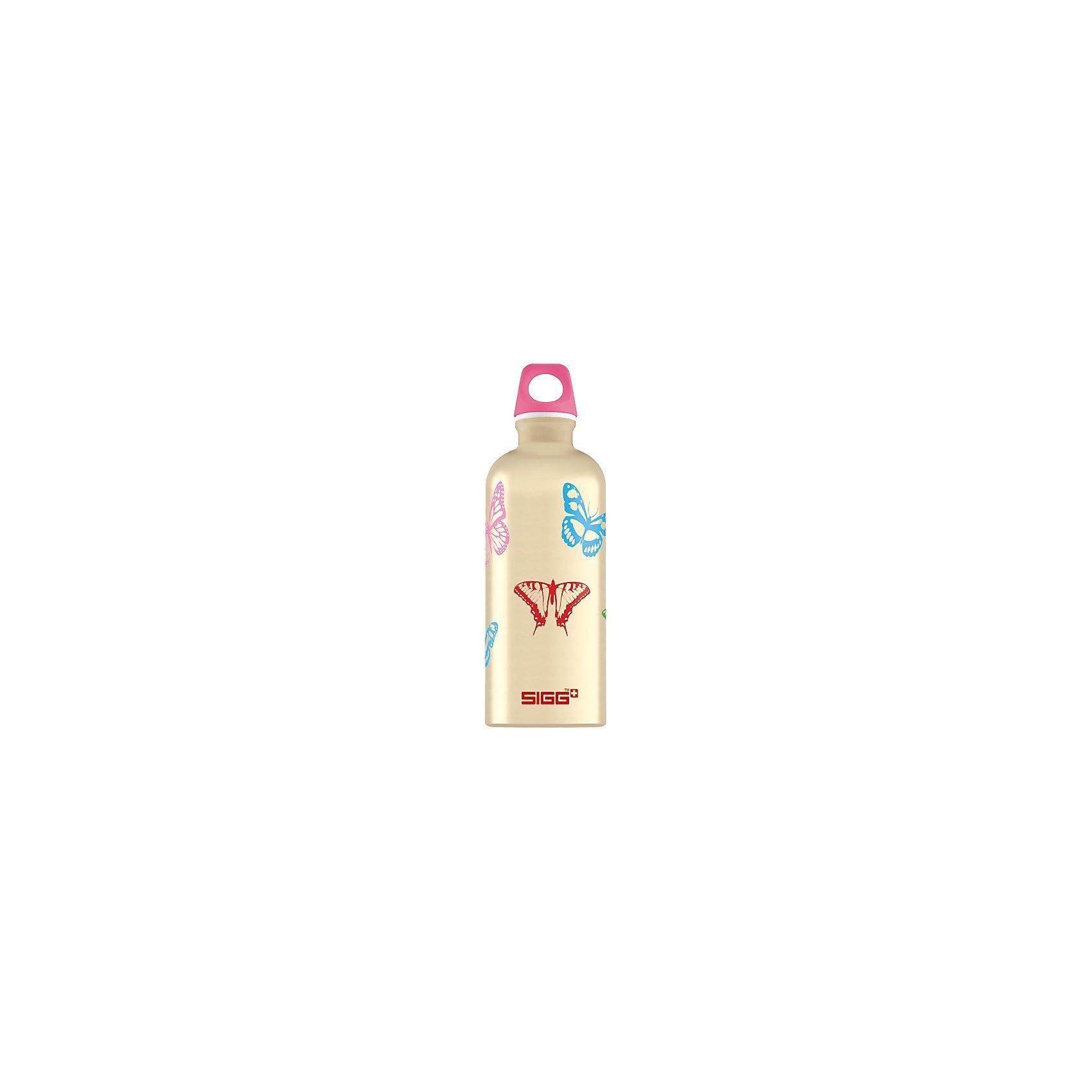 SIGG Alu-Trinkflasche Butterflies, 600 ml