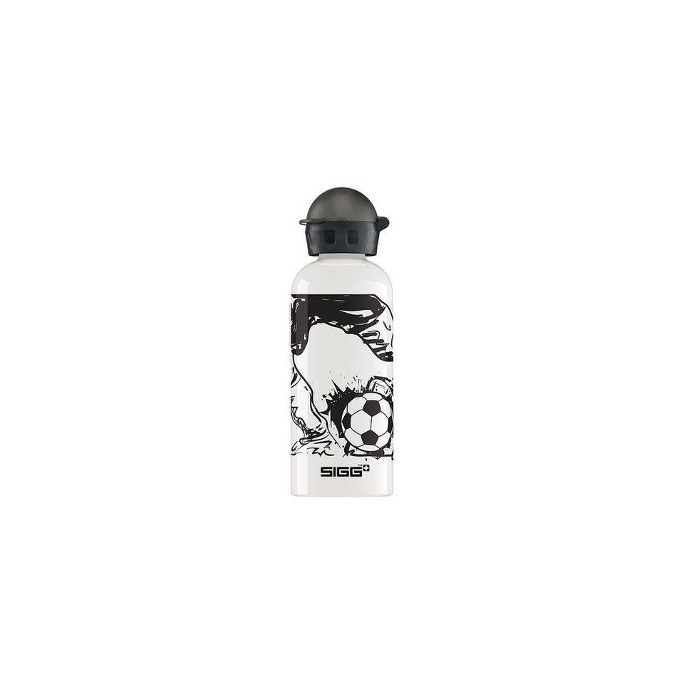 SIGG Alu-Trinkflasche Master of the Pitch, 600 ml in weiß