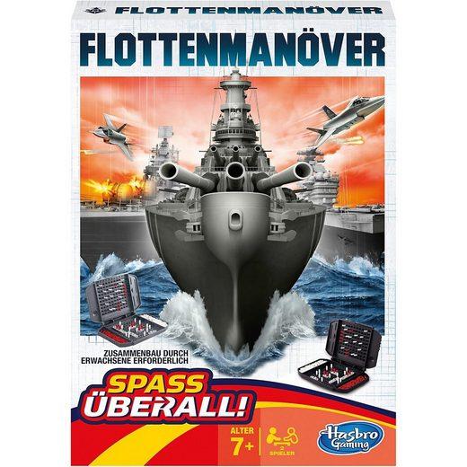 Hasbro Spiel, »Flottenmanöver Kompakt«