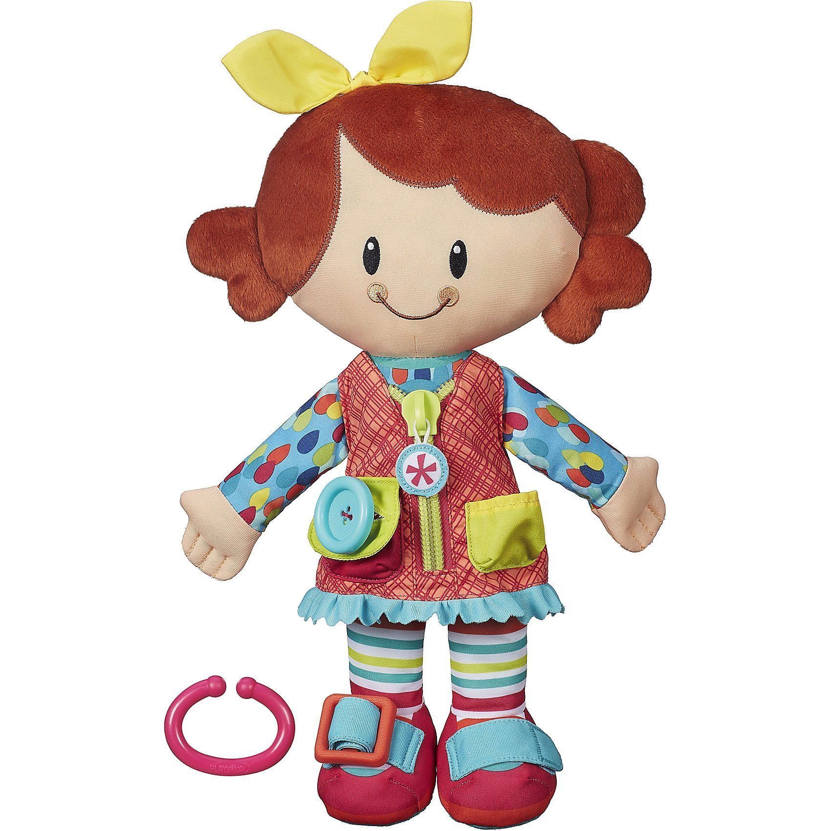 Hasbro Playskool Anziehpuppe Anziehspaß-Freunde, Mädchen