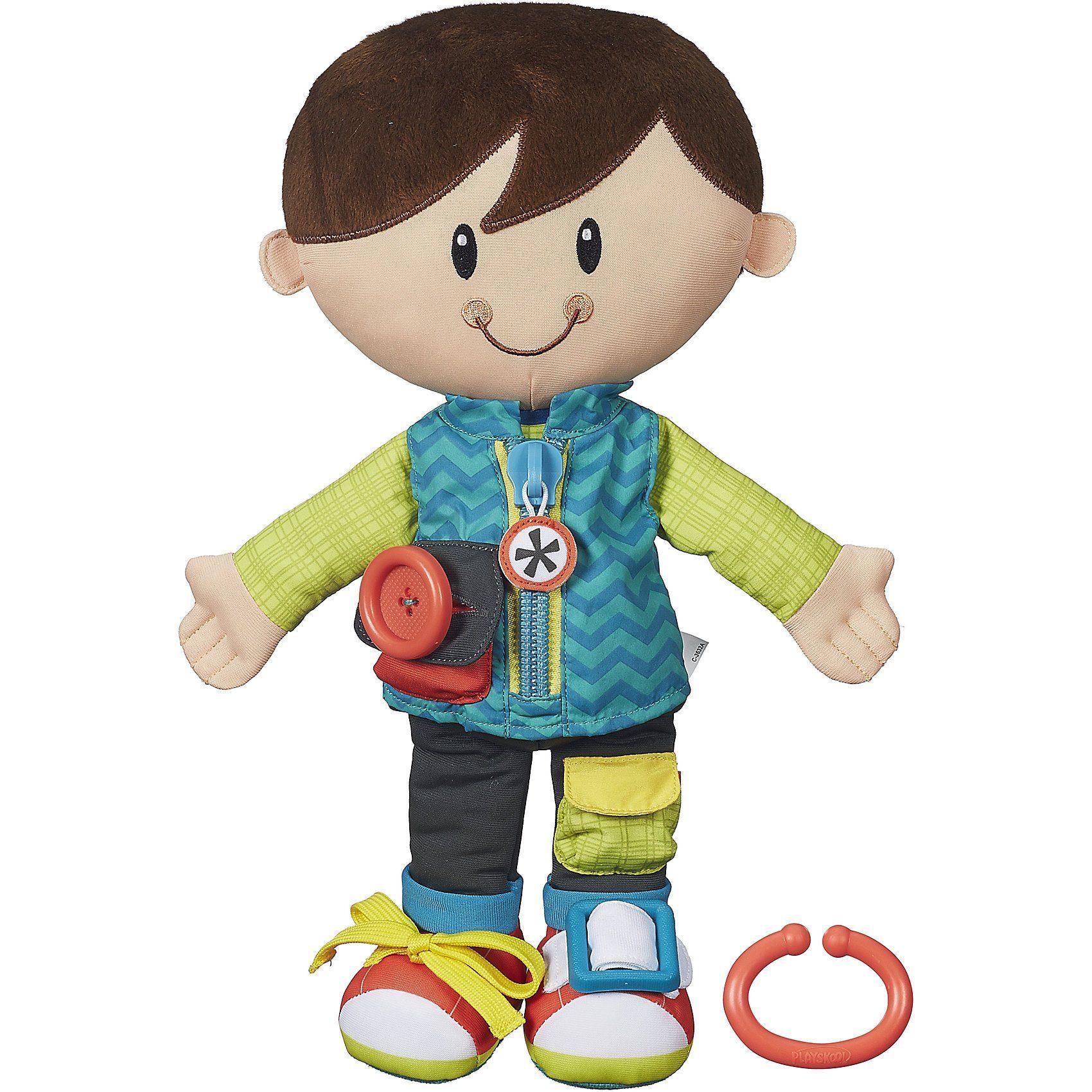 Hasbro Playskool - Anziehspaß-Freunde, Junge