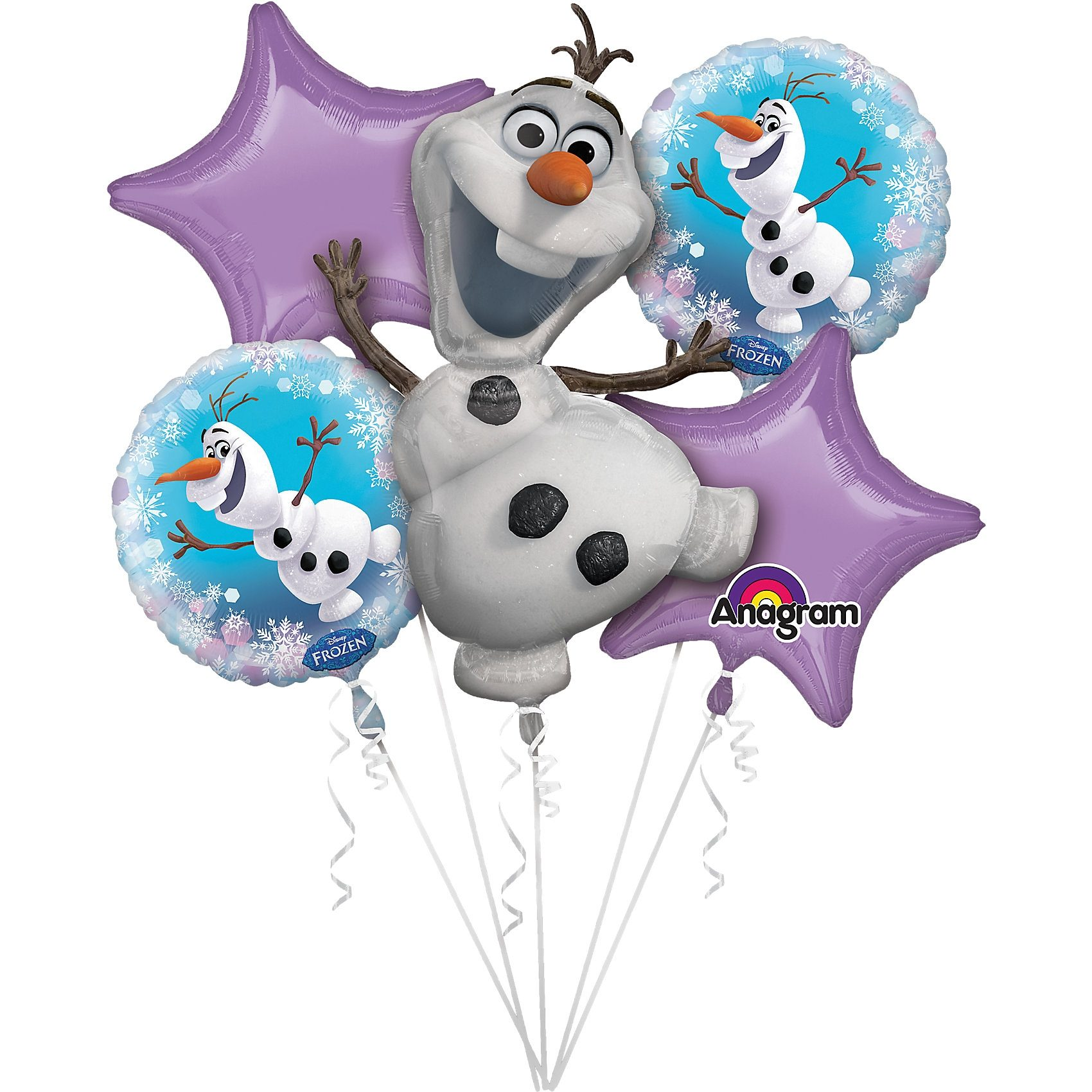 Amscan Bouquet Folienballon-Set Olaf