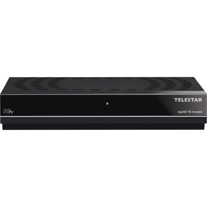 TELESTAR HDTV Satellitenreceiver »digiHD TS 4 mobil« in schwarz