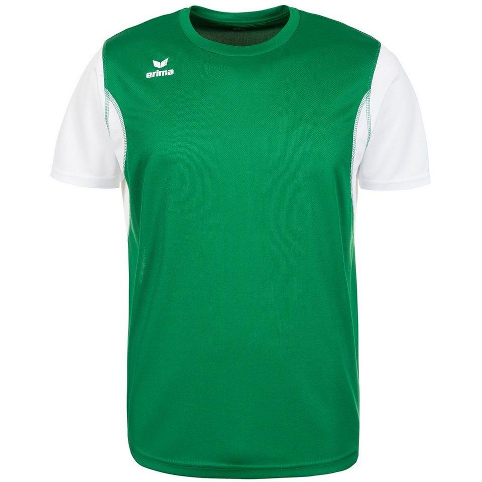 ERIMA T-Shirt Kinder in smaragd/weiß