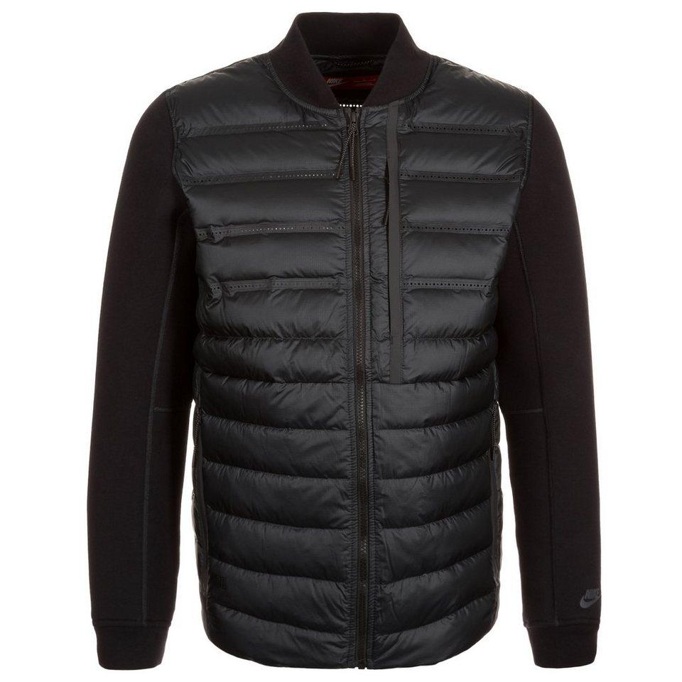 Nike Sportswear Aeroloft Tech Fleece Jacke Herren in schwarz