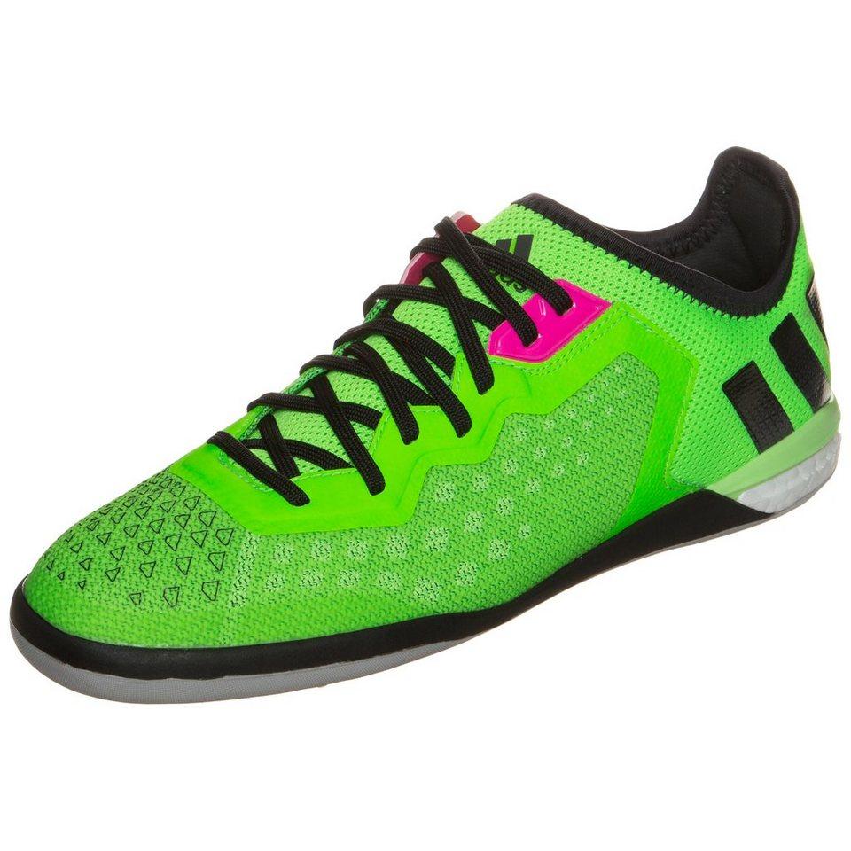 adidas Performance ACE 16.1 Court Limited Fußballschuh Herren in lime / schwarz