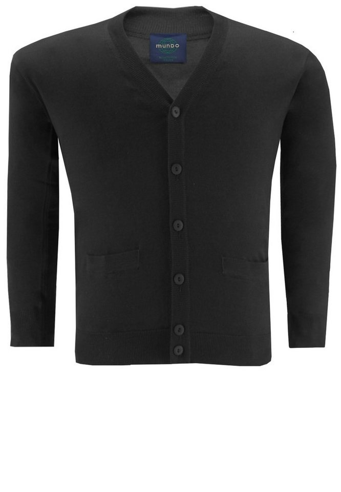 melvinsi fashion Strickjacke, Cardigan in Schwarz