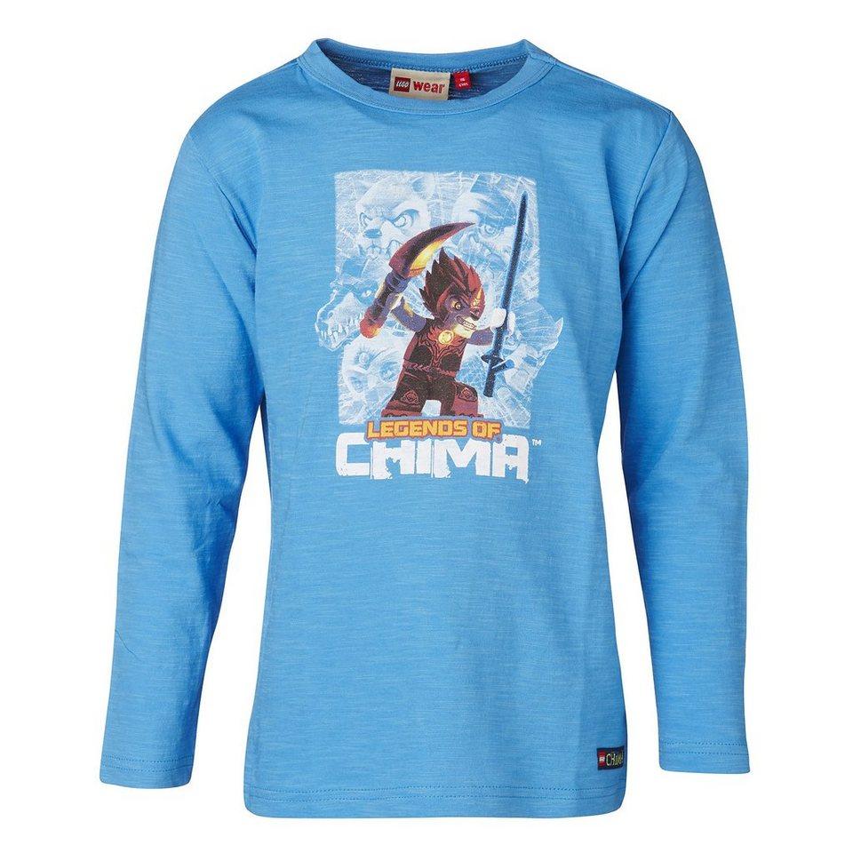 "LEGO Wear Legends of Chima Langarm-T-Shirt Tony ""Laval"" Shirt in blau"