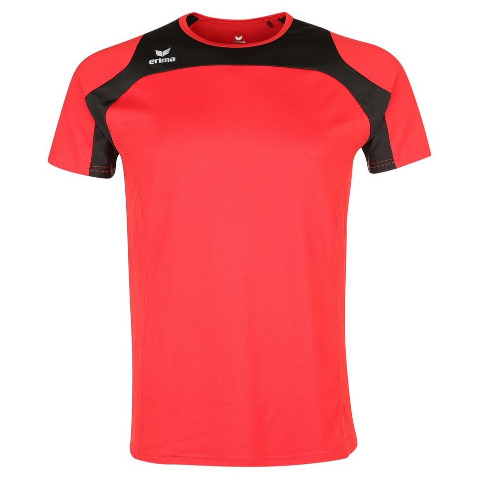ERIMA Race Line Running T-Shirt Kinder in rot/schwarz
